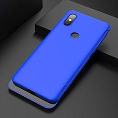 Coque Plastique Rigide Etui Housse Mat P01 pour Xiaomi Mi Mix 3 Bleu