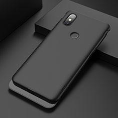 Coque Plastique Rigide Etui Housse Mat P01 pour Xiaomi Mi Mix 3 Noir
