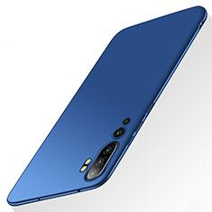 Coque Plastique Rigide Etui Housse Mat P01 pour Xiaomi Mi Note 10 Bleu