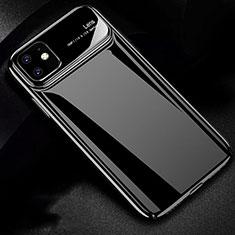 Coque Plastique Rigide Etui Housse Mat P02 pour Apple iPhone 11 Noir