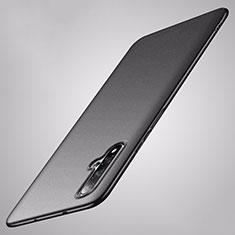 Coque Plastique Rigide Etui Housse Mat P02 pour Huawei Nova 5 Noir