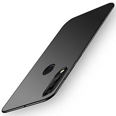 Coque Plastique Rigide Etui Housse Mat P02 pour Huawei P30 Lite XL Noir