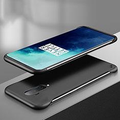 Coque Plastique Rigide Etui Housse Mat P02 pour OnePlus 7T Pro Noir