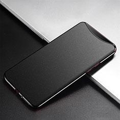 Coque Plastique Rigide Etui Housse Mat P02 pour Oppo Find X Super Flash Edition Noir