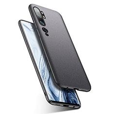 Coque Plastique Rigide Etui Housse Mat P02 pour Xiaomi Mi Note 10 Gris Fonce
