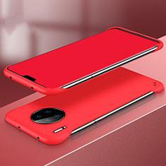 Coque Plastique Rigide Etui Housse Mat P03 pour Huawei Mate 30 Pro Rouge