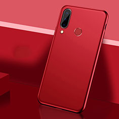 Coque Plastique Rigide Etui Housse Mat P03 pour Huawei P30 Lite New Edition Rouge
