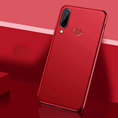 Coque Plastique Rigide Etui Housse Mat P03 pour Huawei P30 Lite Rouge