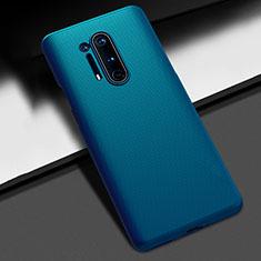 Coque Plastique Rigide Etui Housse Mat P03 pour OnePlus 8 Pro Bleu