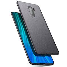 Coque Plastique Rigide Etui Housse Mat P03 pour Xiaomi Redmi Note 8 Pro Gris Fonce