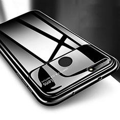 Coque Plastique Rigide Etui Housse Mat P04 pour Huawei Honor View 20 Noir