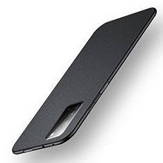 Coque Plastique Rigide Etui Housse Mat P05 pour Huawei Honor X10 5G Noir