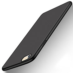 Coque Plastique Rigide Etui Housse Mat P08 pour Apple iPhone 6S Noir