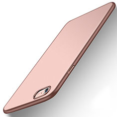 Coque Plastique Rigide Etui Housse Mat P08 pour Apple iPhone 6S Or Rose