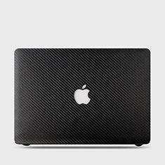 Coque Plastique Rigide Etui Housse Mat Serge pour Apple MacBook Air 13 pouces (2020) Noir