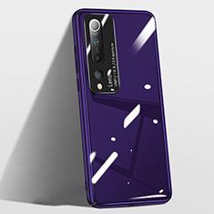 Coque Plastique Rigide Etui Housse Mat T01 pour Xiaomi Mi 10 Violet