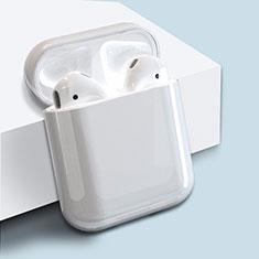 Coque Plastique Rigide Etui Housse pour Boitier de Charge de Airpods Mat Blanc