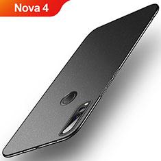 Coque Plastique Rigide Etui Housse Sables Mouvants pour Huawei Nova 4 Noir