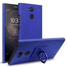 Coque Plastique Rigide Etui Housse Sables Mouvants pour Sony Xperia L2 Bleu