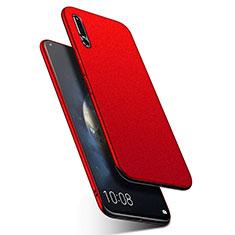 Coque Plastique Rigide Etui Housse Sables Mouvants Q01 pour Huawei Honor Magic 2 Rouge