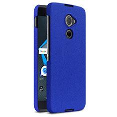 Coque Plastique Rigide Etui Sables Mouvants pour Blackberry DTEK60 Bleu