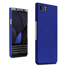 Coque Plastique Rigide Etui Sables Mouvants pour Blackberry KEYone Bleu