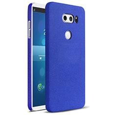 Coque Plastique Rigide Etui Sables Mouvants pour LG V30 Bleu