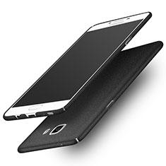 Coque Plastique Rigide Etui Sables Mouvants pour Samsung Galaxy C9 Pro C9000 Noir