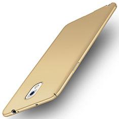 Coque Plastique Rigide Etui Sables Mouvants pour Samsung Galaxy Note 3 N9000 Or