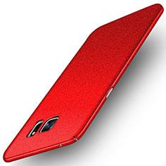Coque Plastique Rigide Etui Sables Mouvants pour Samsung Galaxy Note 5 N9200 N920 N920F Rouge