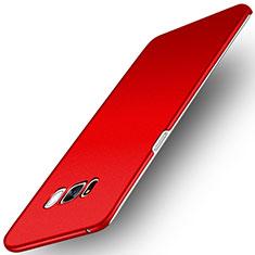 Coque Plastique Rigide Etui Sables Mouvants pour Samsung Galaxy S8 Rouge