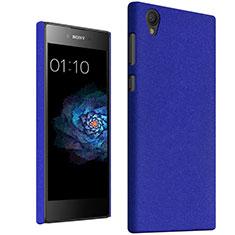Coque Plastique Rigide Etui Sables Mouvants pour Sony Xperia L1 Bleu