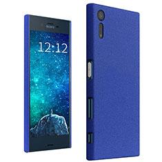 Coque Plastique Rigide Etui Sables Mouvants pour Sony Xperia XZ Bleu