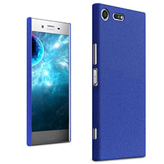 Coque Plastique Rigide Etui Sables Mouvants pour Sony Xperia XZ Premium Bleu