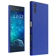 Coque Plastique Rigide Etui Sables Mouvants pour Sony Xperia XZs Bleu