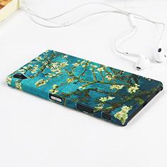 Coque Plastique Rigide Fleurs pour Sony Xperia Z5 Premium Vert