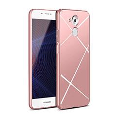 Coque Plastique Rigide Line pour Huawei Nova Smart Or Rose