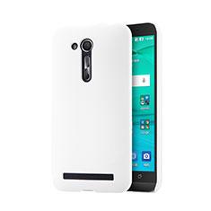Coque Plastique Rigide Mailles Filet pour Asus Zenfone Go ZB452KG ZB551KL Blanc