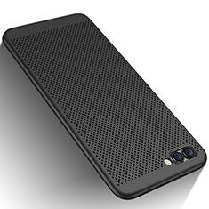 Coque Plastique Rigide Mailles Filet pour Huawei Honor V10 Noir