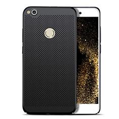 Coque Plastique Rigide Mailles Filet pour Huawei P8 Lite (2017) Noir