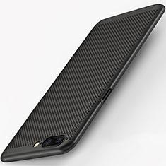 Coque Plastique Rigide Mailles Filet pour OnePlus 5 Noir