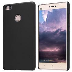 Coque Plastique Rigide Mailles Filet pour Xiaomi Mi 4S Noir