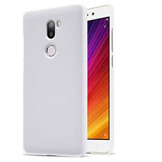 Coque Plastique Rigide Mailles Filet pour Xiaomi Mi 5S Plus Blanc