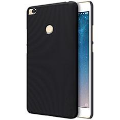 Coque Plastique Rigide Mailles Filet pour Xiaomi Mi Max 2 Noir