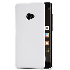Coque Plastique Rigide Mailles Filet pour Xiaomi Mi Note 2 Blanc