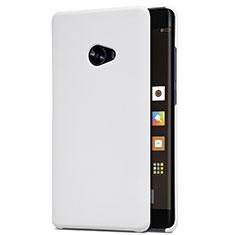 Coque Plastique Rigide Mailles Filet pour Xiaomi Mi Note 2 Special Edition Blanc