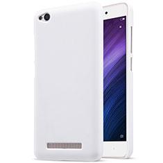 Coque Plastique Rigide Mailles Filet pour Xiaomi Redmi 4A Blanc