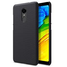 Coque Plastique Rigide Mailles Filet pour Xiaomi Redmi 5 Plus Noir