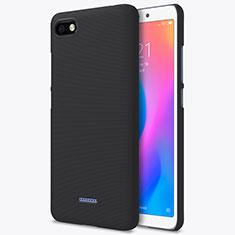 Coque Plastique Rigide Mailles Filet pour Xiaomi Redmi 6A Noir