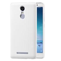 Coque Plastique Rigide Mailles Filet pour Xiaomi Redmi Note 3 Blanc